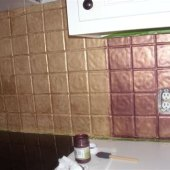 Can You Paint Over Glass Tile