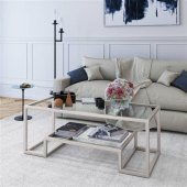 Glass Rectangle Coffee Table